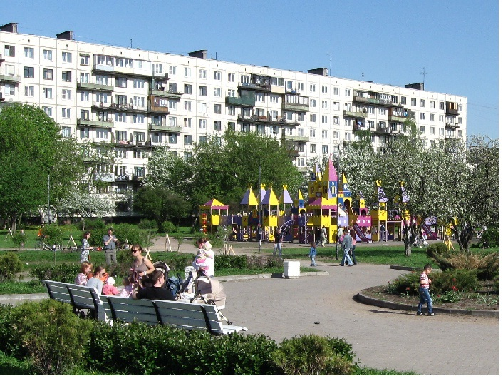 Детский городок в Яблоневом саду