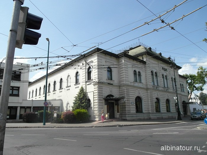 Будапешт здание ресторана Gundel Венгрия