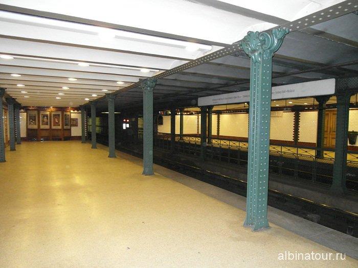 Будапешт станция метро.