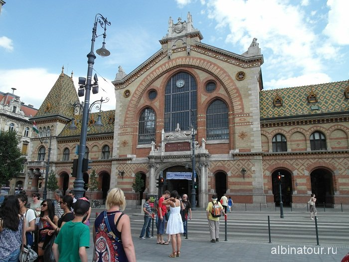 Венгрия Будапешт Центральный крытый рынок Nagyvasarcsarnok.
