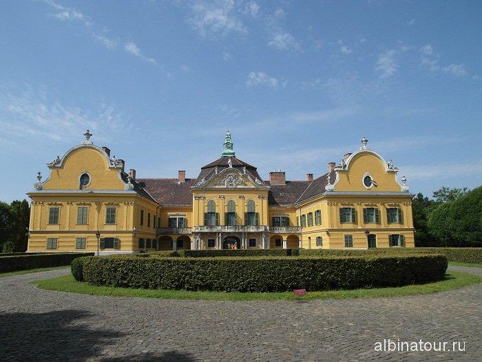 Венгрия Будапешт дворец Надьтетень- Nagytetenyi Kastelymuzeum