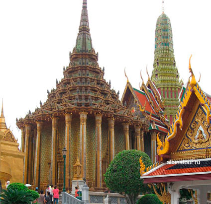 Бангкок библиотека Пхра Мондоп / Phra Mondop