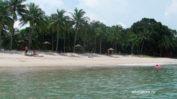 Лангкави Отель Mutiara Burau Bay пляж