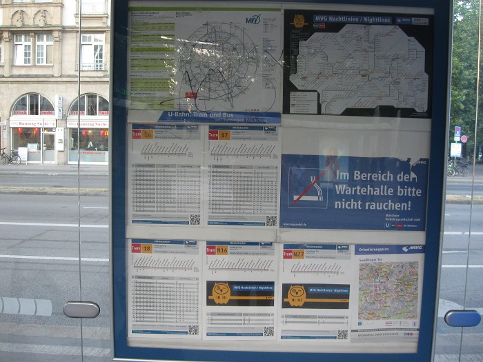 Германия остановка трамвая график движения