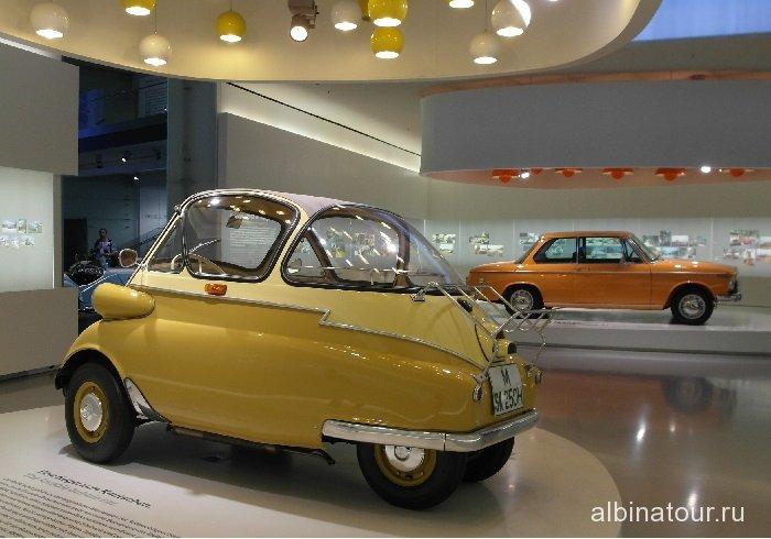Германия  BMW Isetta 1955г. музей БМВ Мюнхен