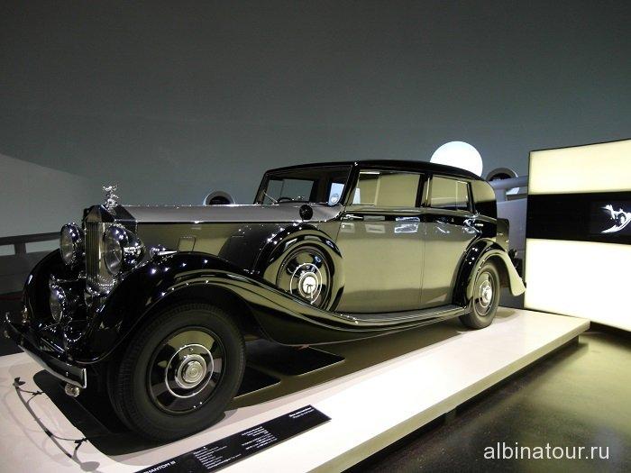 Германия Роллс-Ройс Фантом III музей БМВ
