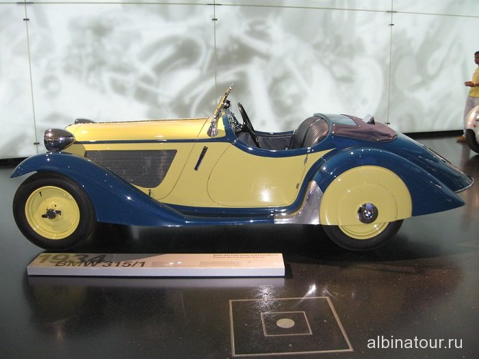 Германия Кабриолет музей БМВ Мюнхен