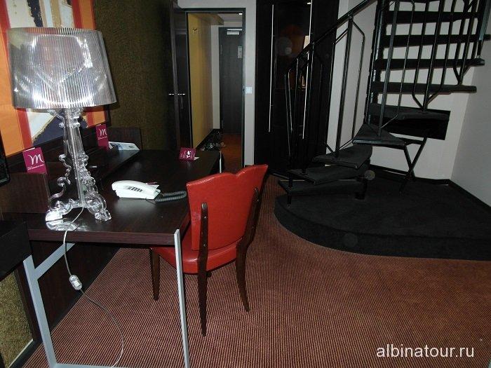 Бавария вид номера в отеле «Меrcure Hotel Muenchen City Center»