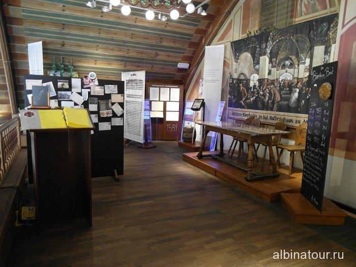 Германия музей пивного ресторана Хофбройхаус / Hofbräuhaus Мюнхен