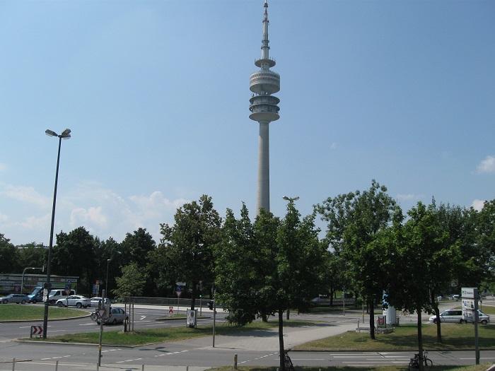 Германия телевизионная башня / Olympiaturm Мюнхен