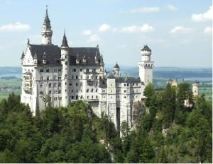 Замок Нойшванштайн Германия