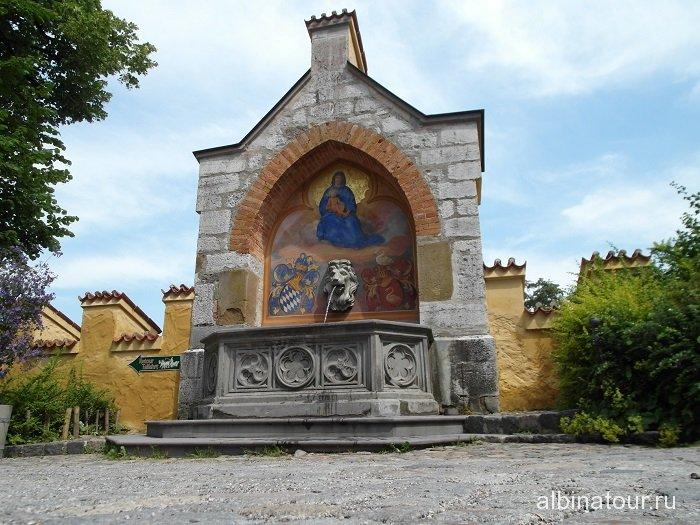 Фонтан в замке Хоэншвангау