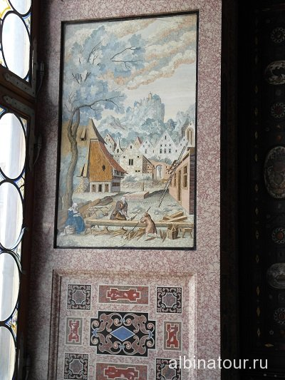 Германия Сцена из жизни Девственницы Резиденция Мюнхен