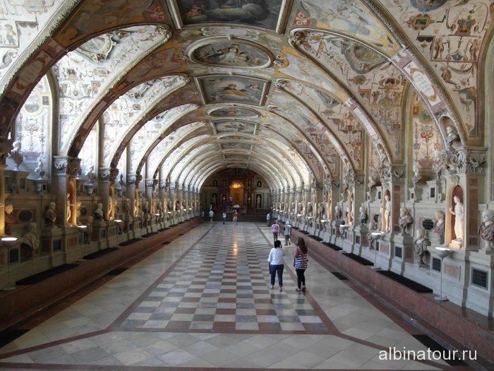 Германия антиквариум Резиденция Мюнхен