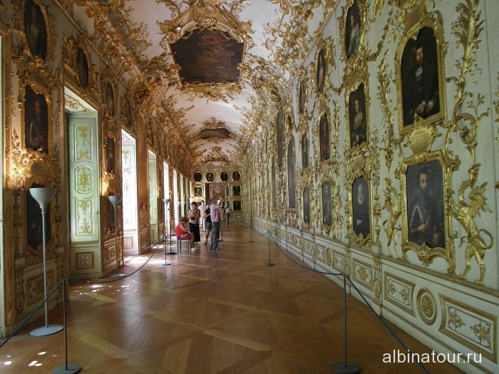 Германия галерея предков Резиденция Мюнхен