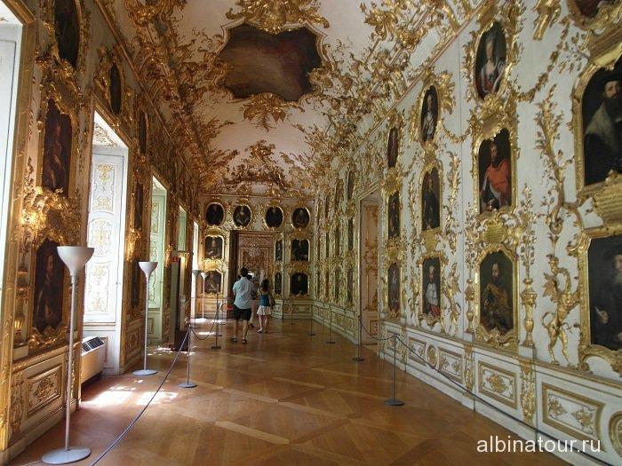 Германия Галерея предков Резиденция Мюнхен 2
