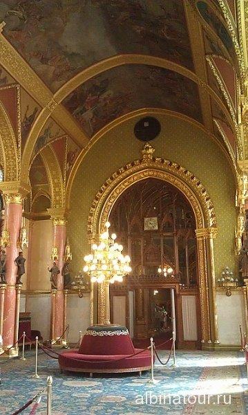 Будапешт Интерьер Венгерского парламента 4