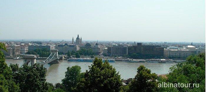 Венгрия вид на Будапешт