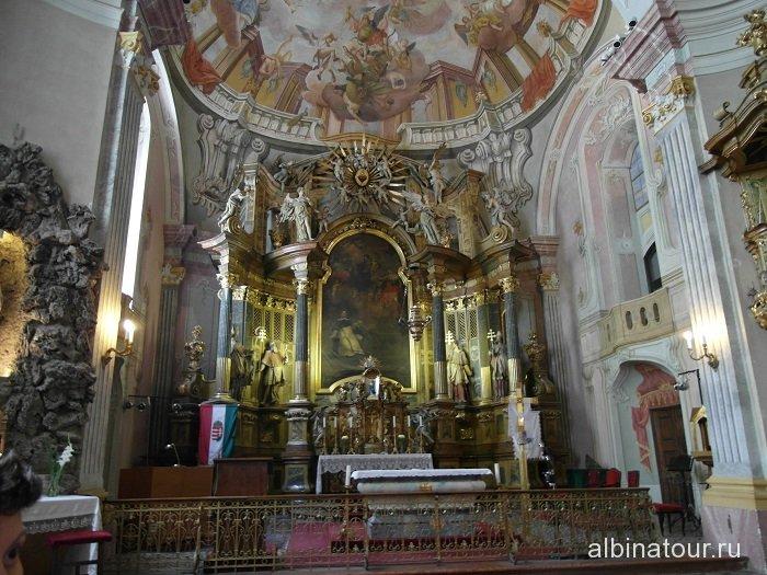 Венгрия Будапешт церковь Angolkisasszonyok Temploma