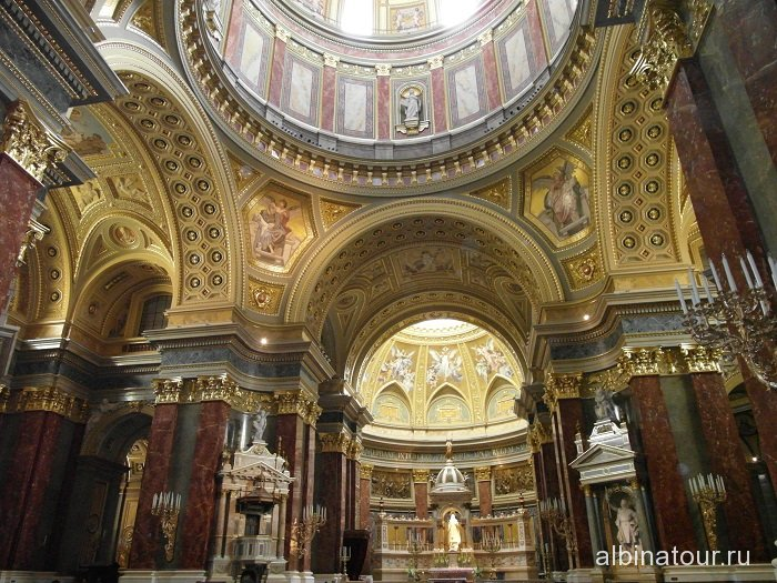 Венгрия Будапешт базилика Святого Иштвана -3