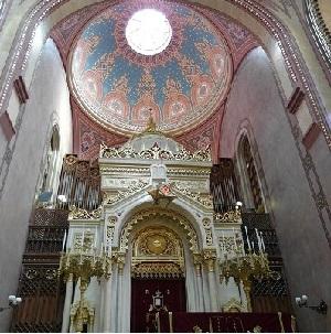 Венгрия Будапешт Большая синагога