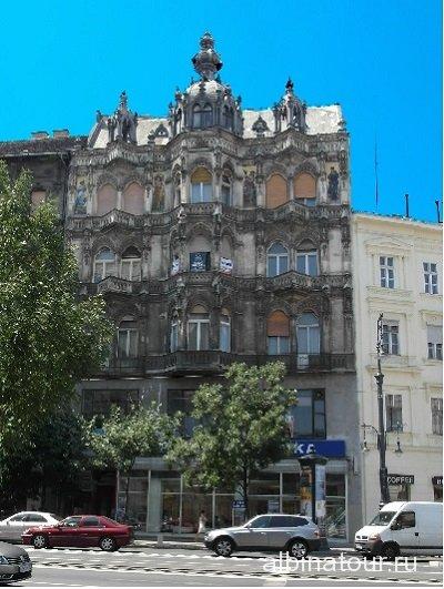 Венгрия Будапешт Дом времена года или дом с мозаикой 1