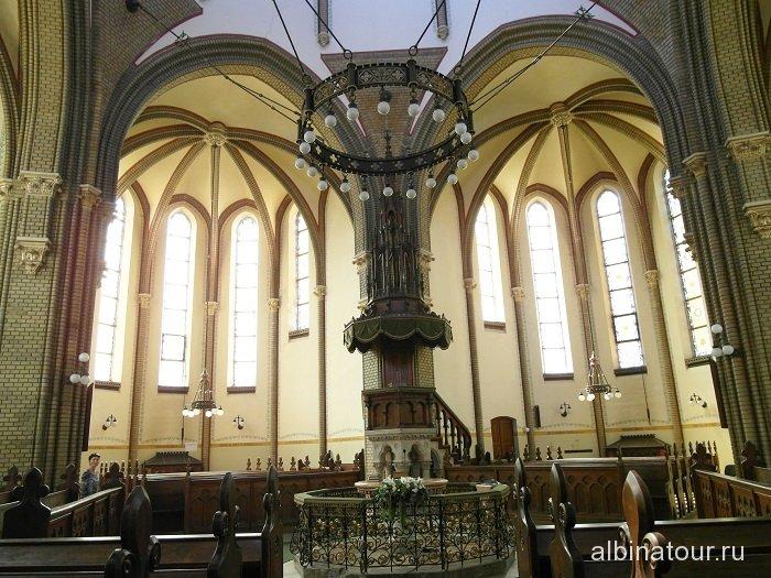 Венгрия Будапешт Кальвинистская церковь