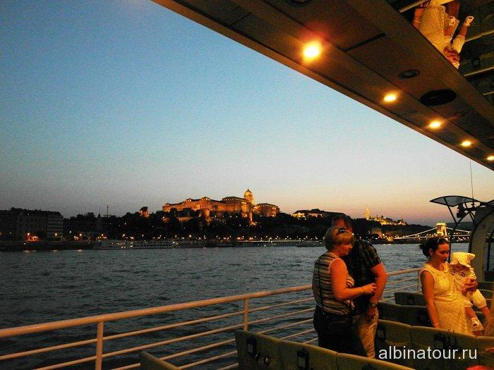 Венгрия вечерний Будапешт
