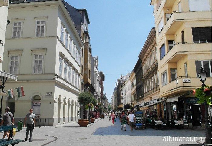 Венгрия Пешеходная улица Ваци Vaci utca