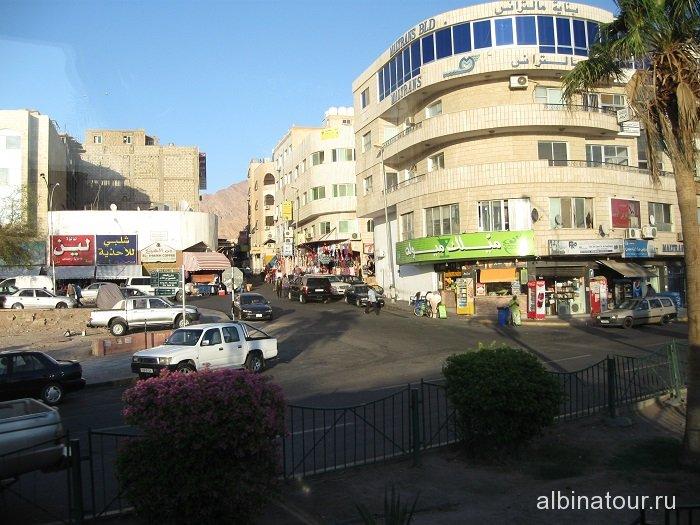 Иордания вид 2 города Акаба