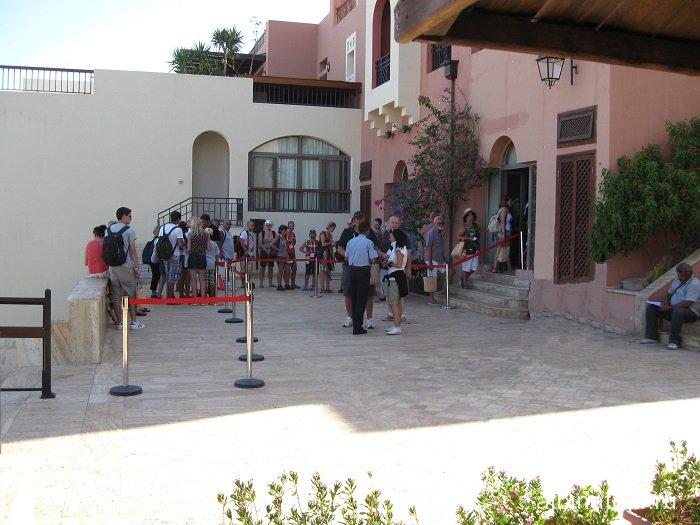 Прохождение паспортного и таможенного контроля в Иордание городе Акаба