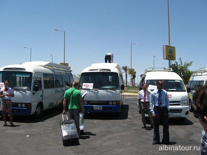 Египет Шарм-эль-Шейх аэропорт наш автобус