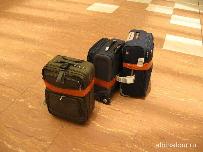 Египет Шарм-эль-Шейх аэропорт зал выдачи багажа 2