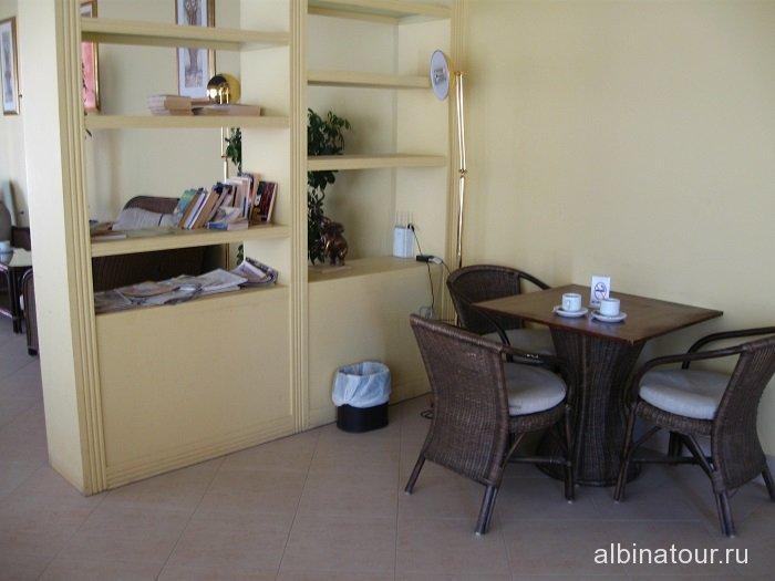 Египет   Таба   отель  Софитель библиотека 3