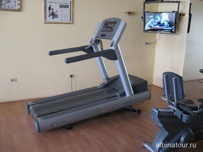 Египет   Таба   отель  Софитель фитнес зал 1