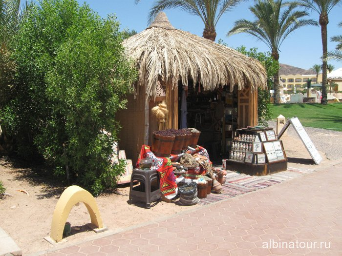 Египет Таба  отель Софитель магазин сувениров