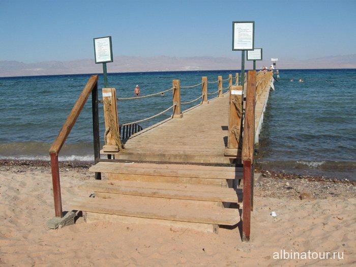 Египет Таба Софитель Красное море понтон