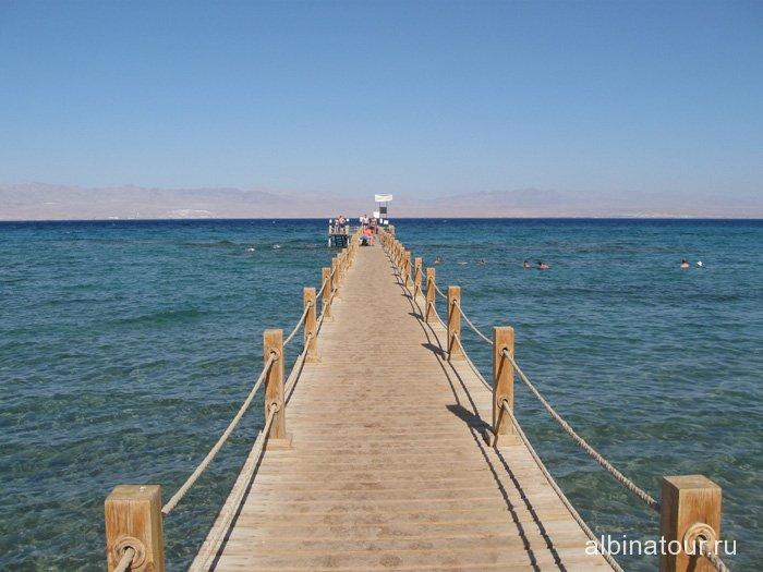 Египет Таба Софитель Красное море понтон 2