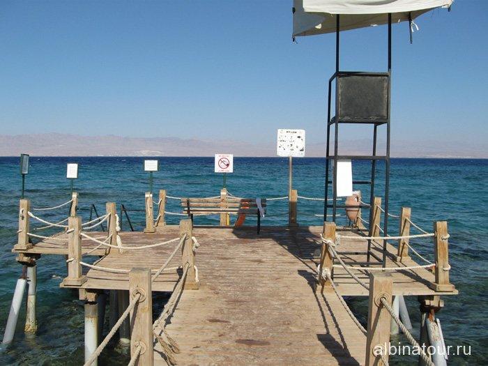 Египет Таба Софитель Красное море понтон 3