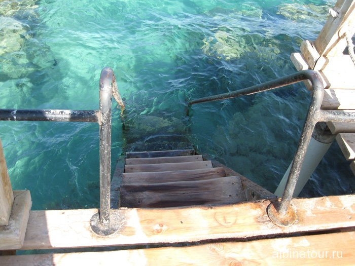 Египет Таба Софитель Красное море понтон 4