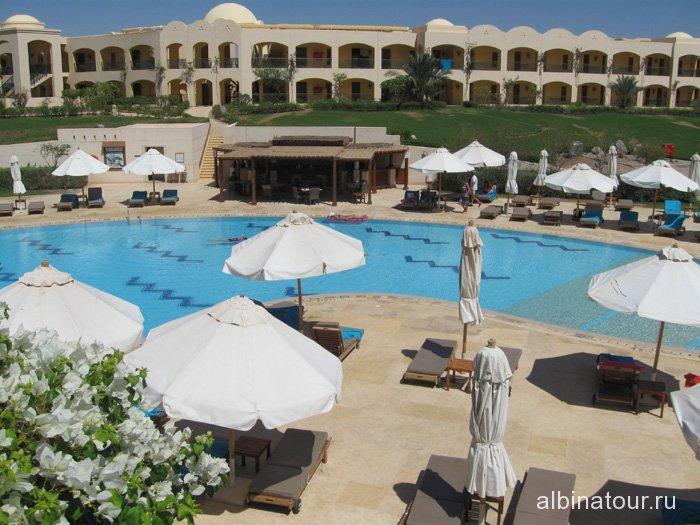 Египет Таба Софитель тихий бассейн