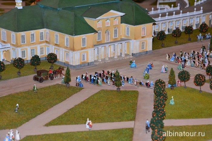 Россия Петербург исторический театр-макет «Петровская Акватория» 9