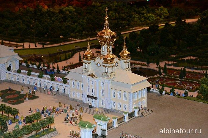 Россия Петербург исторический театр-макет «Петровская Акватория» 25