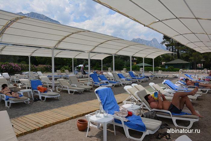 Турция Кемер отель Ma Biche пляж 9