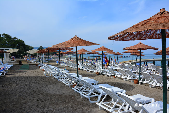 Турция Кемер отель Ma Biche пляж 10