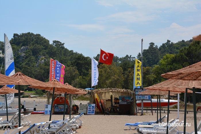 Турция Кемер отель Ma Biche пляж 20