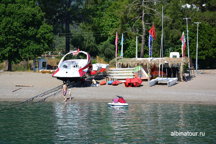 Турция Кемер отель Ma Biche пляж 21