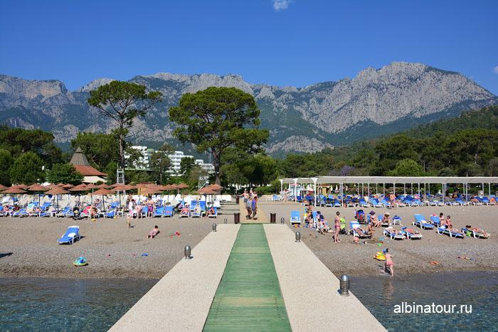 Турция Кемер отель Ma Biche пляж 12