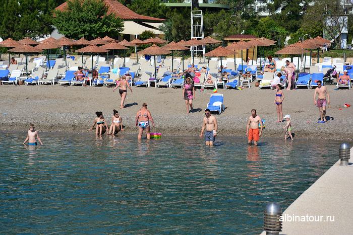Турция Кемер отель Ma Biche пляж 15