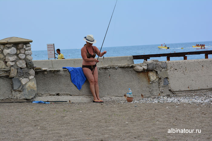 Турция Кемер отель Ma Biche пляж 29
